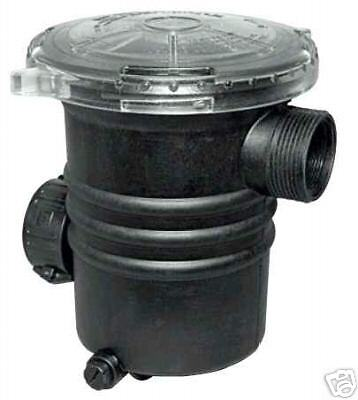 """Waterway 1.5"""""""" Hair & Lint Trap for Above Ground Pool Pump 310-5400"""