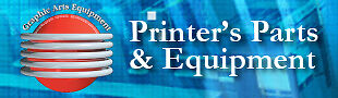 Printer's Parts and Equipment